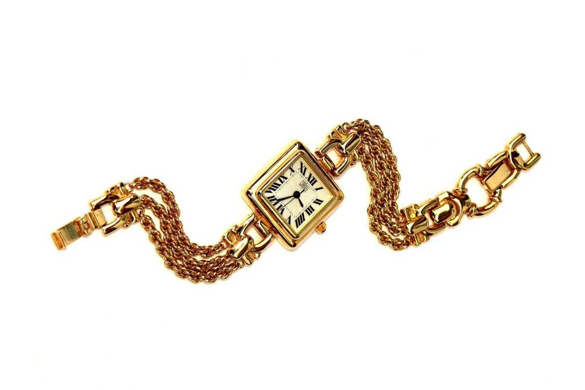 ladies watch Carvel gold plated